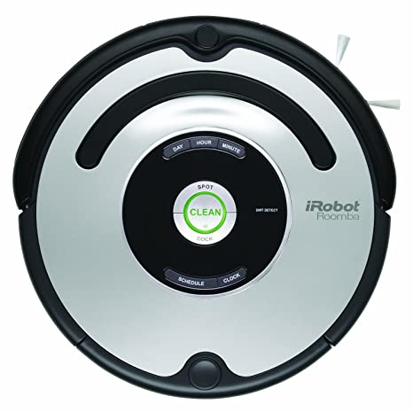 iRobot 560 Roomba Vacuuming Robot, Black and Silver(Versin EE.UU.,