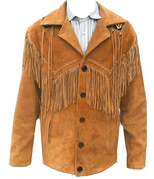 Amazon.com: sleekhides de los hombres Western Cowboy piel ...
