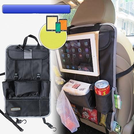 Fakeface® de alta calidad con bolsa de almacenaje universal Soporte organizador asiento trasero Multi-