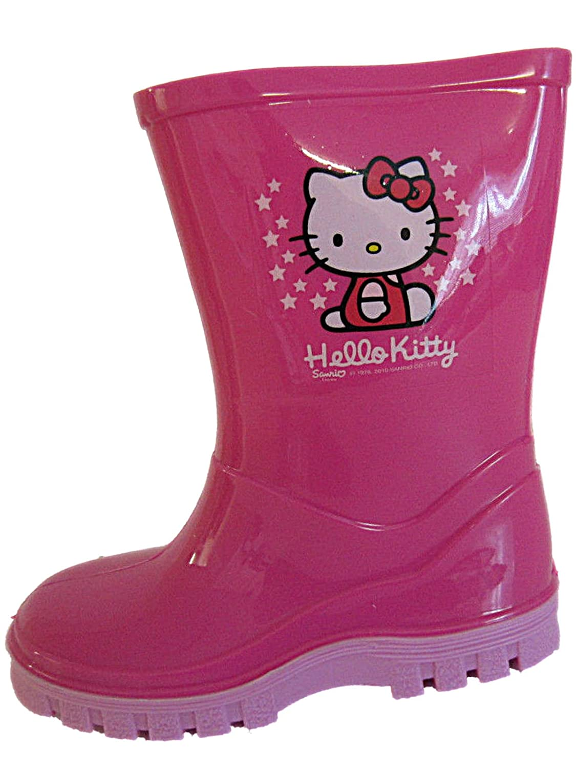 Girls Hello Kitty Glitter Wellingtons