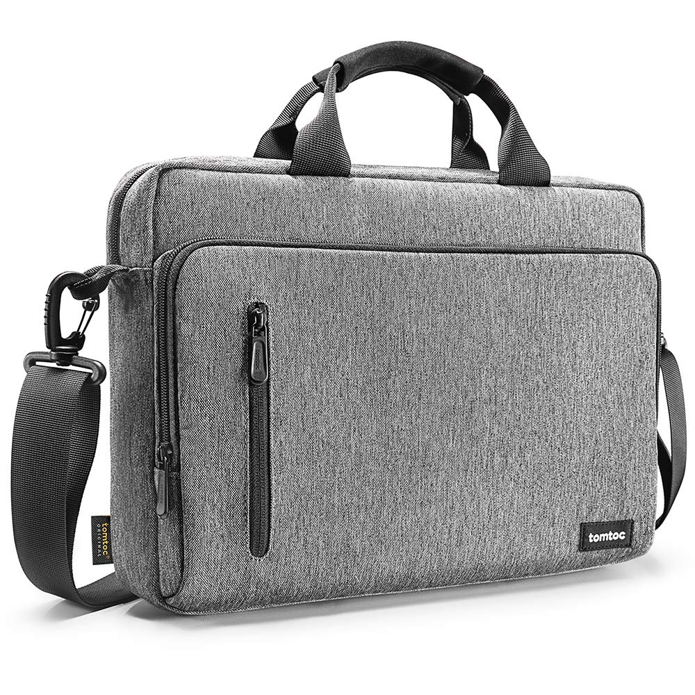 tomtoc 13.3 Inch Laptop Shoulder Bag for 13 MacBook Dell XPS 13 Surface Laptop by tomtoc