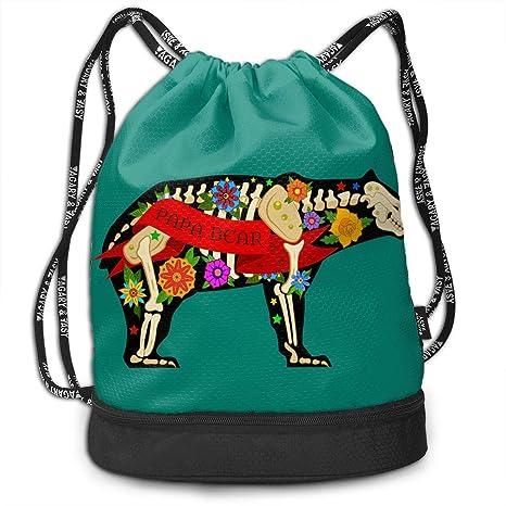Nyanhif Moda Old School Papa Bear Bundle Mochila para Mujer ...