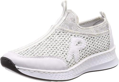 Rieker Damen N5654 81 Slip On Sneaker