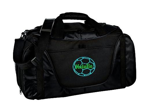 481469e3471f Personalized Soccer Medium Two Tone Duffel Bag