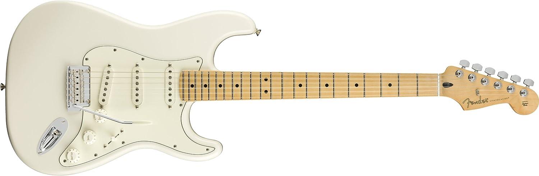 Fender Player Stratocaster Guitarra Eléctrica - Diapasón de arce - Polar White