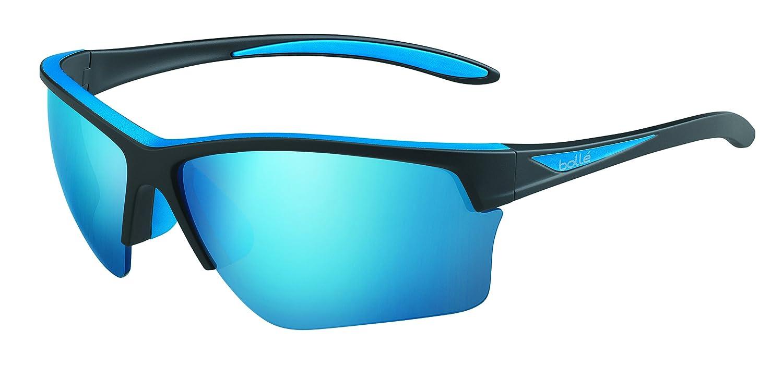 Bolleフラッシュサングラスマットブラック/ブルー、ブルー B01MFCNY4S, カバー専門エール公式ショップ e8cac87e