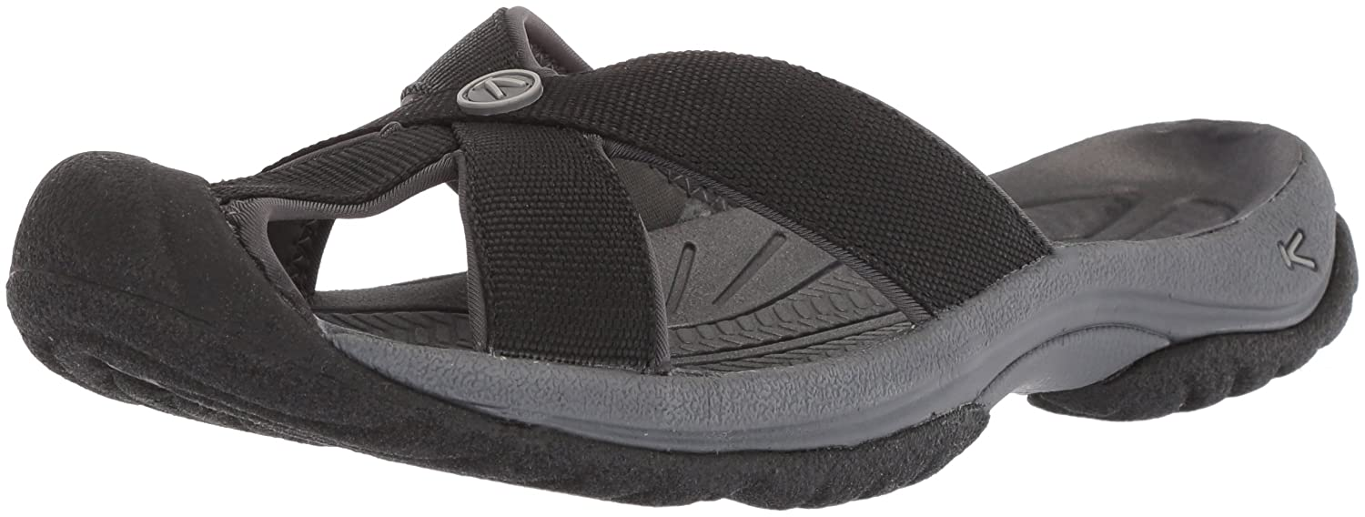 KEEN Women's Bali Sandals B071XTSH52 5.5 B(M) US|Black/Magnet