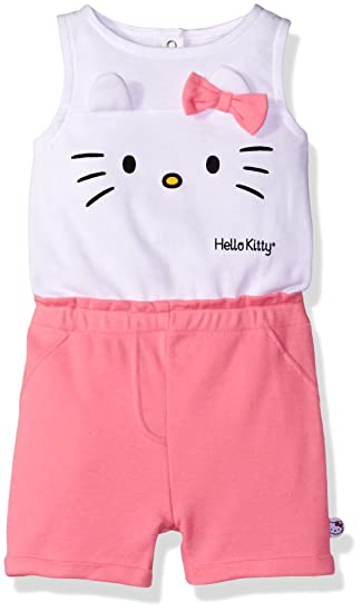2a8e004fe Amazon.com: Hello Kitty Baby Girls' Romper: Infant And Toddler Rompers:  Clothing