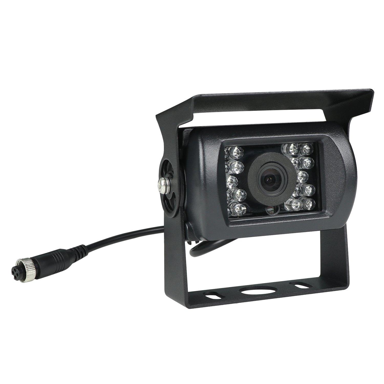 20 Meter Anschlusskabel Schwarz KIPTOP 7 Zoll Monitor TFT Farb IP67 Farb Kamera inkl