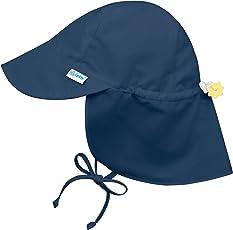 i play.. Bebé Unisex Solid Flap Protección Solar Sombrero UPF 50+