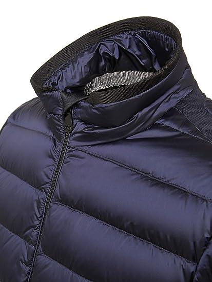 Geox m dereck c cappotto amazon neri piumini corti