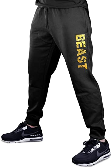 Mens Fashion Im Holding A Beer So Yeah Im Pretty Busy Jogger Sweatpant Bodybuilding Gym Shorts