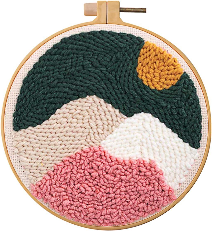 663797 Ma vie Handmade Punch Needle Craft Kit