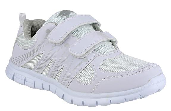 Sneakers bianche con chiusura velcro per donna Mirak De Moda Para Barato Manchester Aclaramiento Los Más Valorados EMyundUeZI