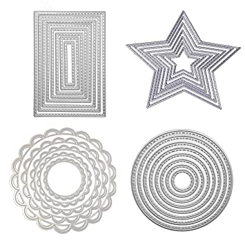 4x//set Blätter Metall Stanzformen Für DIY ScrapbookingAlbum Karten Machen-Dekor/_