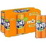 Fanta Orange 8 x 200mL
