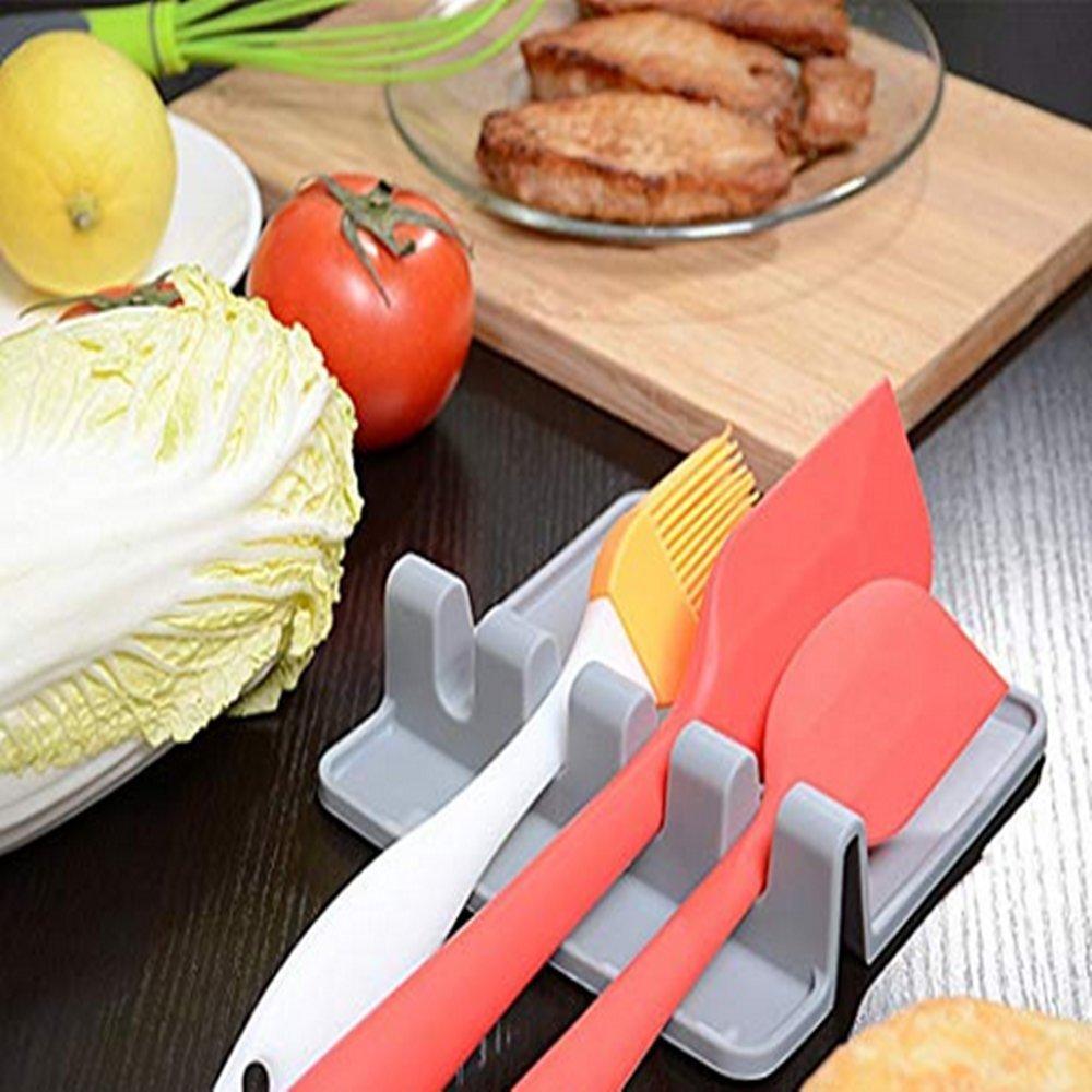 Fyuan Extra Große Löffelablage, Küchenutensilablage, Löffel Rest ...