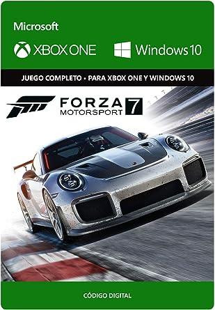 Forza Motorsport 7: Standard Edition | Xbox One/Windows 10 PC - Código de descarga: Amazon.es: Videojuegos