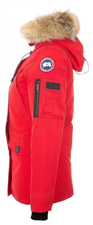 Canada Goose - Abrigo - para mujer rojo Medium: Amazon.es: Ropa y accesorios