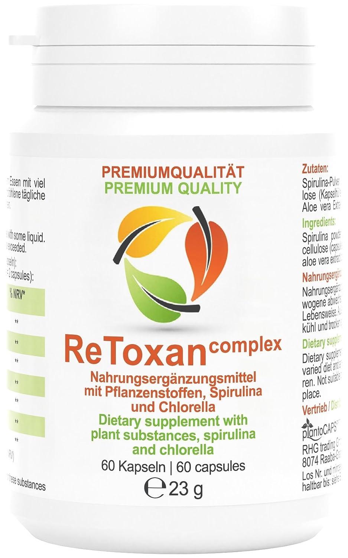 plantoCAPS® ReToxan detox complex | Tratamiento de un mes | La depuración y el adelgazamiento van de la mano: Amazon.es: Salud y cuidado personal
