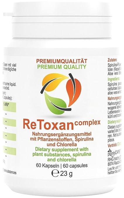 plantoCAPS® ReToxan detox complex | Tratamiento de un mes | La depuración y el adelgazamiento van de la mano