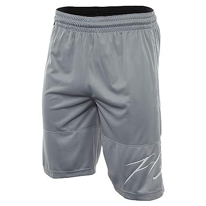 559e67c3cd069f Nike Mens Jordan GX1 Basketball Shorts Wolf Grey White 861463-012 Size Large
