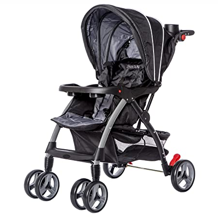 Dream On Me Maldives Lightweight Stroller, Grey