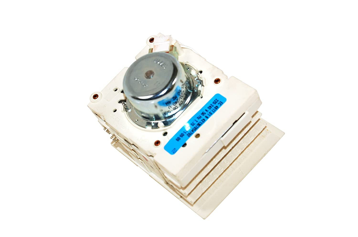 Caple Cookers Homark White Knight Crosslee White Westinghouse Tumble Dryer Timer Ec4818.01a. Genuine part number 421307854782 [Energy Class A]