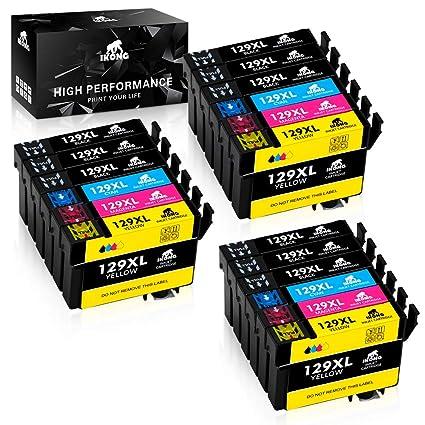 IKONG Compatible T1291 T1292 T1293 T1294 T1295 Cartuchos de Tinta ...
