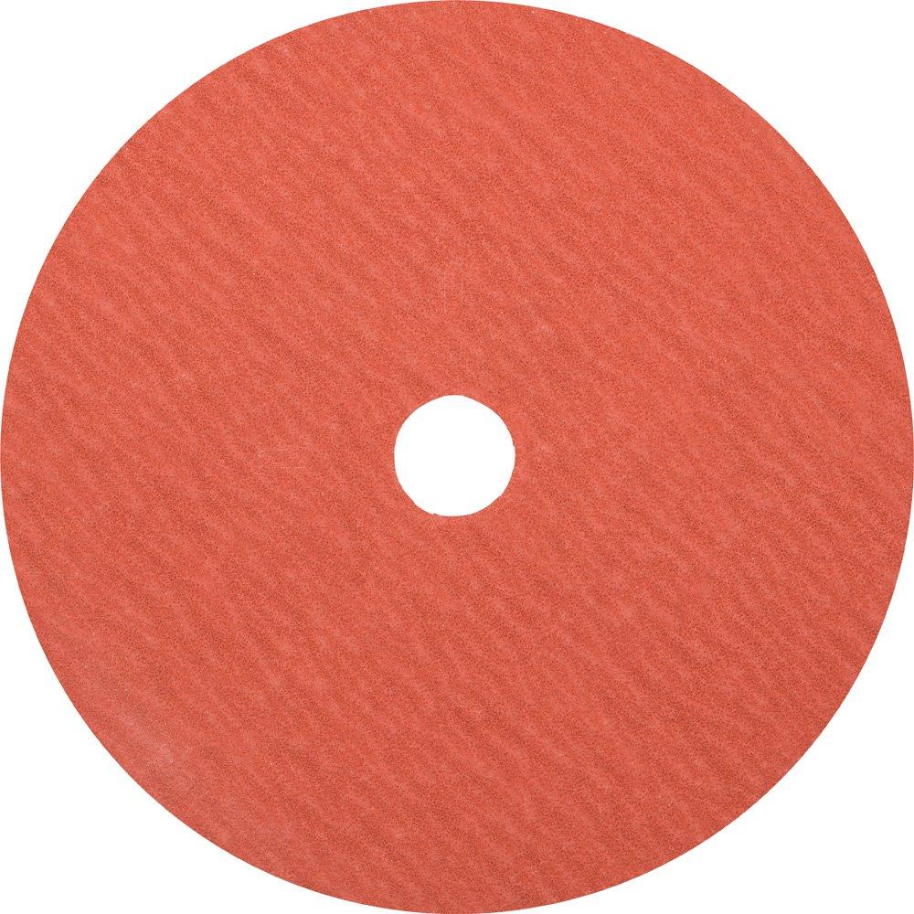 Aluminum Oxide A-Cool 7//8 Arbor Hole 60 Grit 7 Diameter PFERD 40076 Fibre Disc 8500 RPM Pack of 25