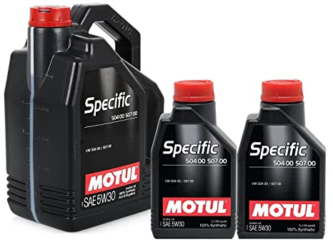 Aceite Motor 106375 Motul Specific 504.00-507.00 5W30 - 7 litros