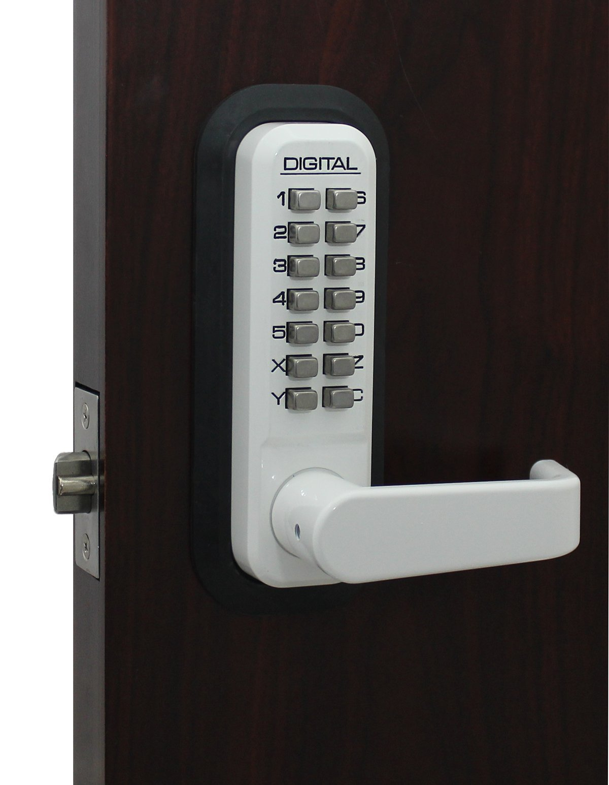 2835WH Mechanical, Keyless Lever Lock