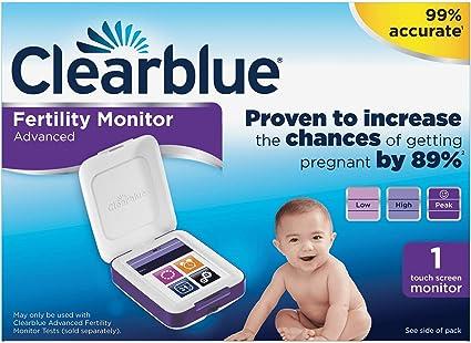 Clearblue - monitor de fertilidad avanzado, con pantalla t&