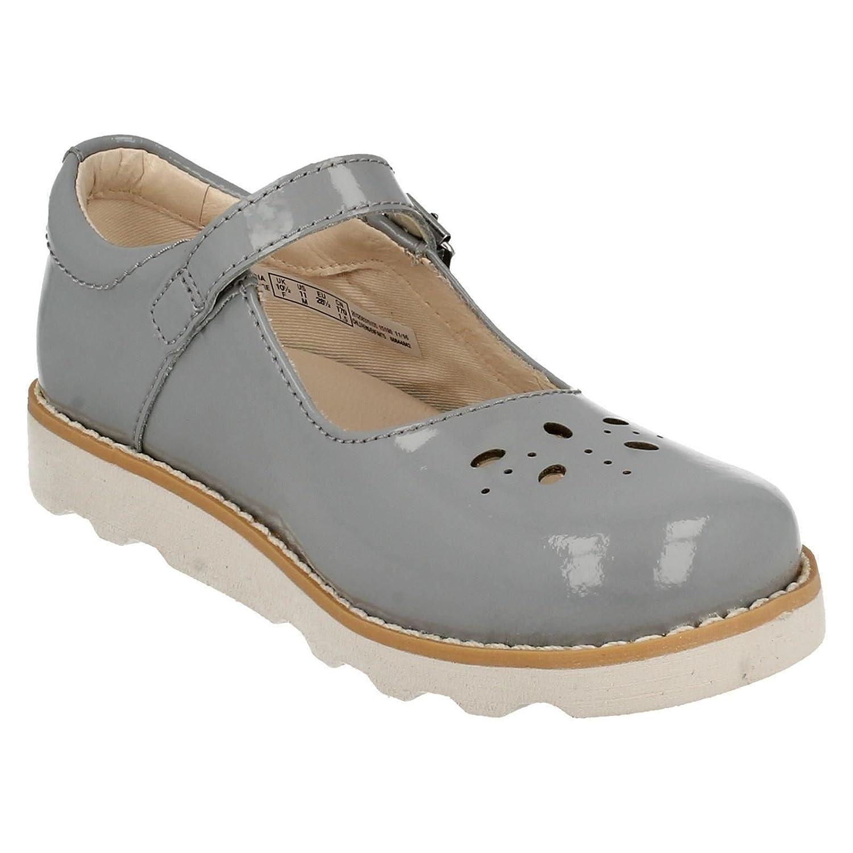 Clarks Girls Crown Posy Inf Wedge Heels Sandals