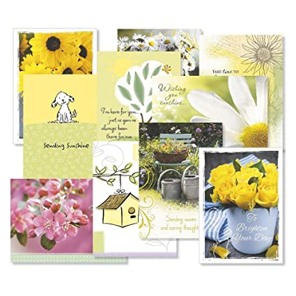 get well greeting cards value pack set of 20 10 designs large 5 - Get Well Greeting Cards