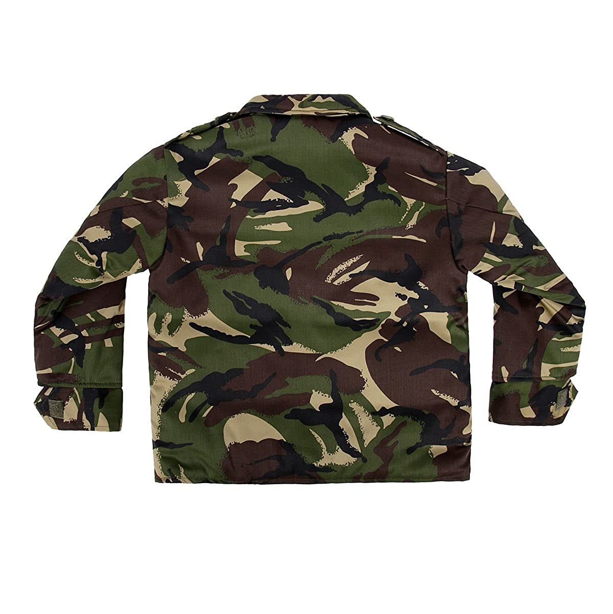 Kids Army Camouflage Padded Jacket Ages 3-13 Childs Camo Coat