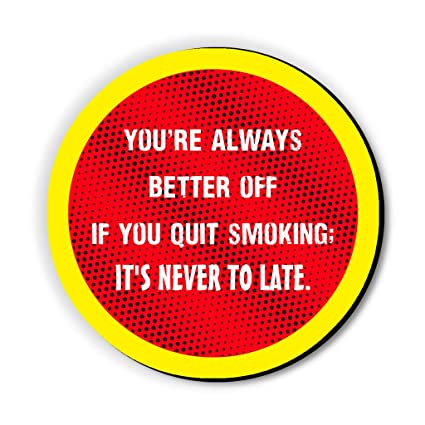 Quit Smoking Fridge Magnet/Multipurpose Magnet for Home/Kitchen / Office by Seven Rays