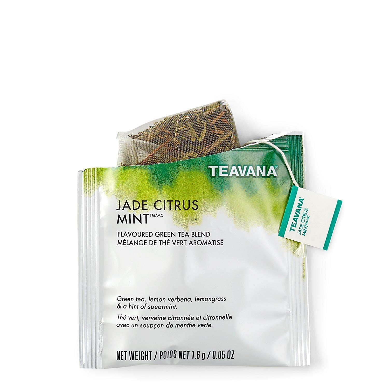 Starbucks Teavana Tea Sachets (Jade Citrus Mint, Pack of 24 Sachets)