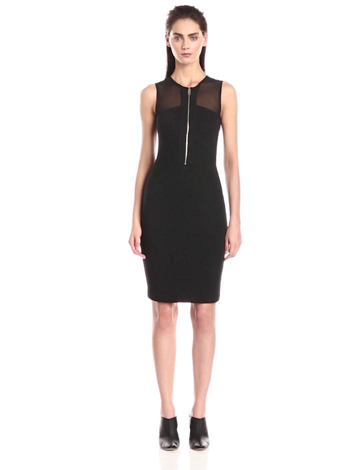 Diesel Women's D-Sim Dress, Black, X-Small