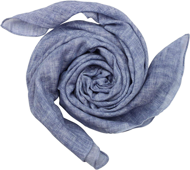 blu-blu e polvere melange sguardo Freak Scene Sciarpa di cotone stoffa quadrata