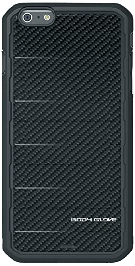 super popular 288db 60479 Body Glove Rise Case for iPhone 6 Plus - Retail Packaging - Black Carbon  Fiber