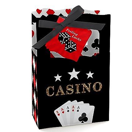 Amazon.com: Las Vegas – Casino Party Favor cajas – Conjunto ...