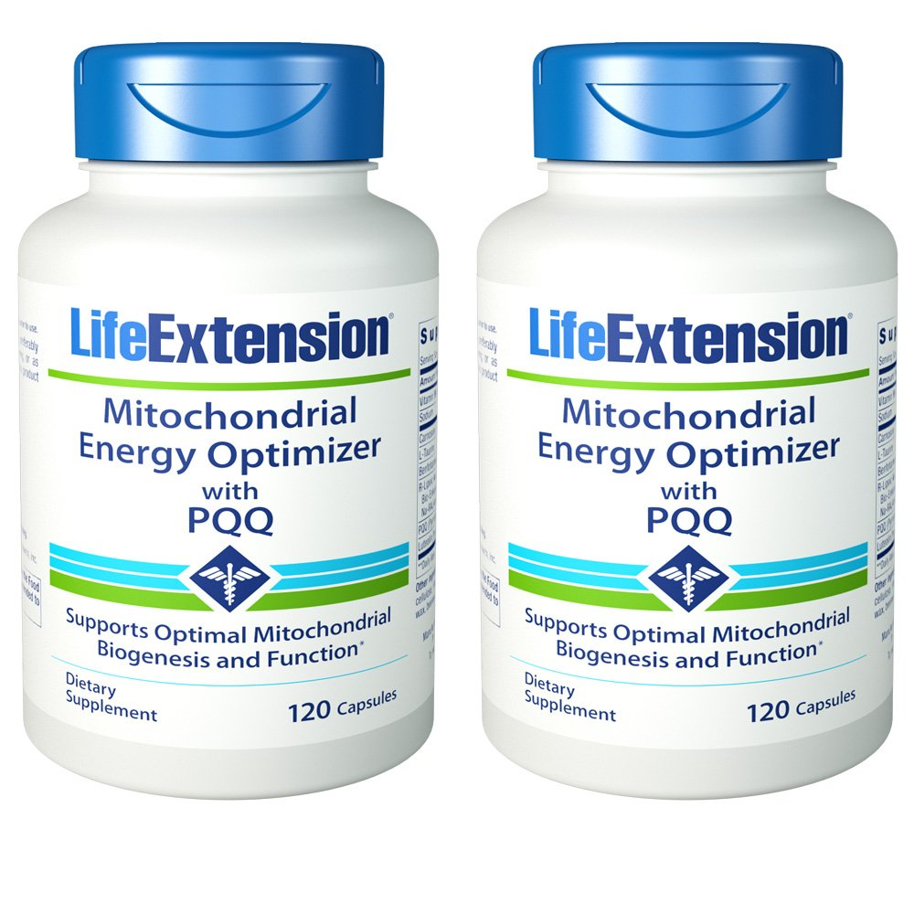 Life Extension Mitochondiral Energy Support W/BioPQQ, 240 Capsules