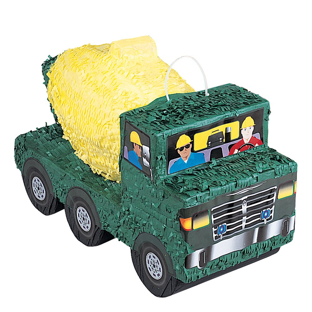 Cement Truck Construction Pinata