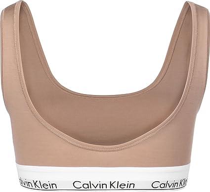 Calvin Klein Underwear U Back W Sujetador Deportivo Warm Camel ...