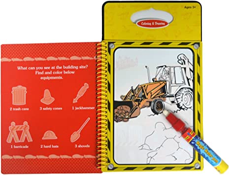 Water Painting Book Colouring Pictures Kid Drawing Educational Toy Vehiles