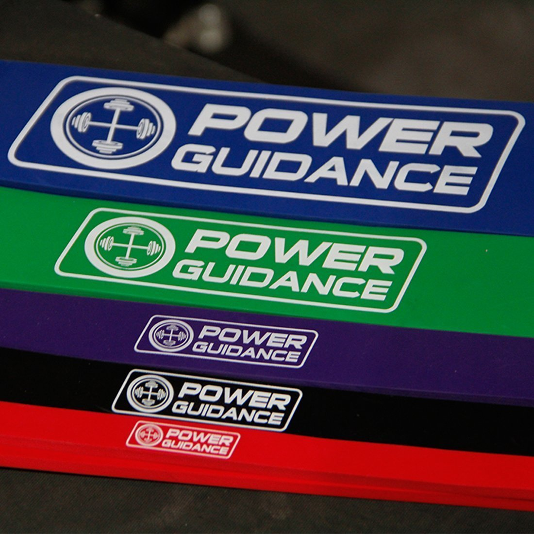 POWER GUIDANCE Pull Up Assist Bands - Stretch Resistance Band - Mobility Band - Powerlifting Bands - by Perfect for Body Stretching, Powerlifting, Resistance Training - Single Unit- Green by POWER GUIDANCE (Image #5)