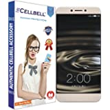 CELLBELL Tempered Glass for Letv Le 1S with Installation Kit (Transparent)