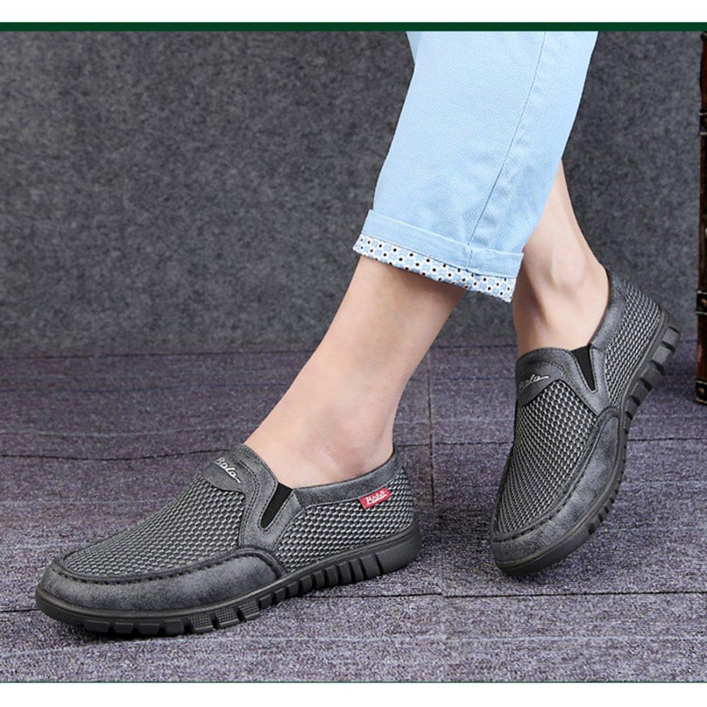 Sommer-beiläufige Sommer-beiläufige Sommer-beiläufige Schuhe Der Männer Mittleres Gealtertes Breathable Weiche Schuhe Vati-Schuhe  f191a0