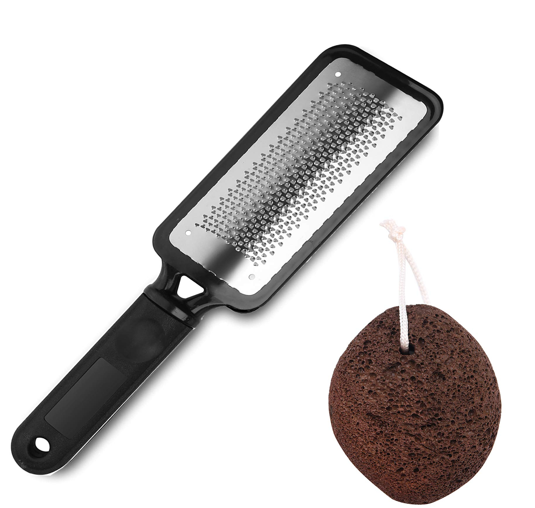 Colossal Foot Care Rasp and Pumice Stone Foot File, Pedicure Tools Trimmer for Callus Remover Foot Scrubber Care